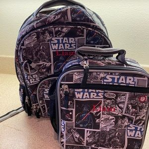 Pottery Barn Star Wars Backpack and Lunchbox